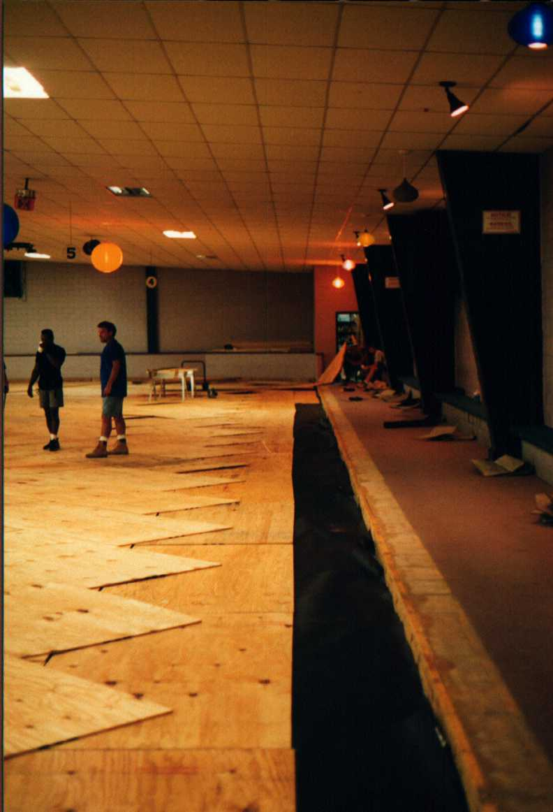 Skate A Round S New Wooden Floor