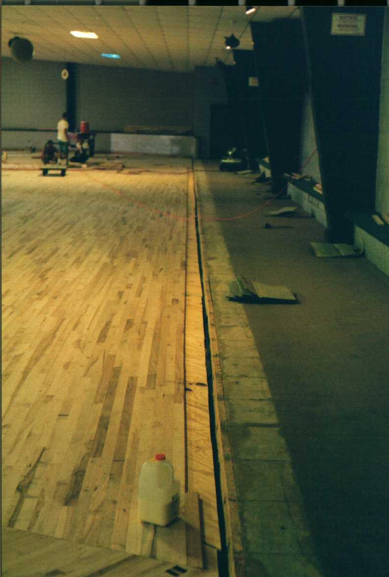 SkateARounds New Wooden Floor - Skate court flooring