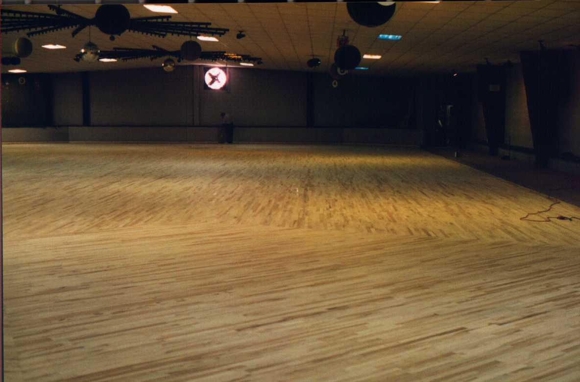 Skate A Round S New Wooden Floor